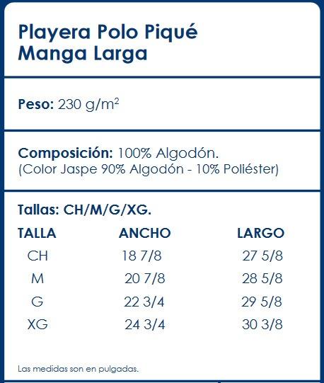 1ef47173c609a Kit 6 Playeras Polo Caballero Optima Manga Larga -   897.75 en ...