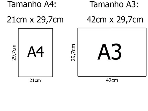 kit 6 pôsteres - a3 - papel couchê - frete grátis