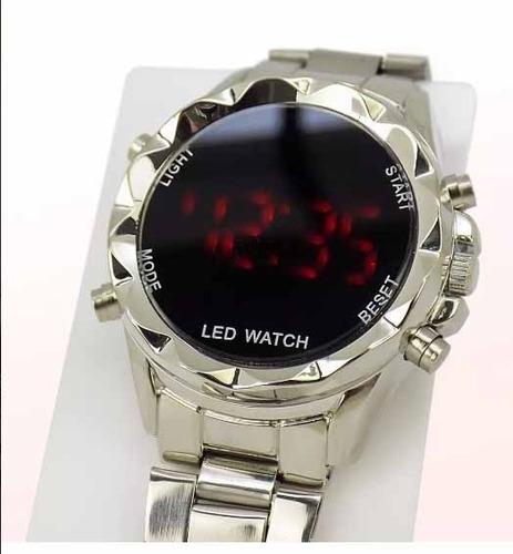 kit 6 relógio feminino digital aço led atacado revenda