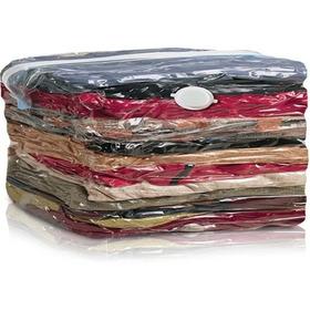 Kit 6 Saco À Vácuo 80x60 Organizador Edredom Cobertor Roupa
