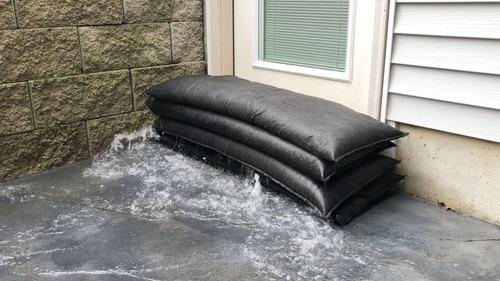 kit 6 sacos automáticos reutilizables para inundaciones