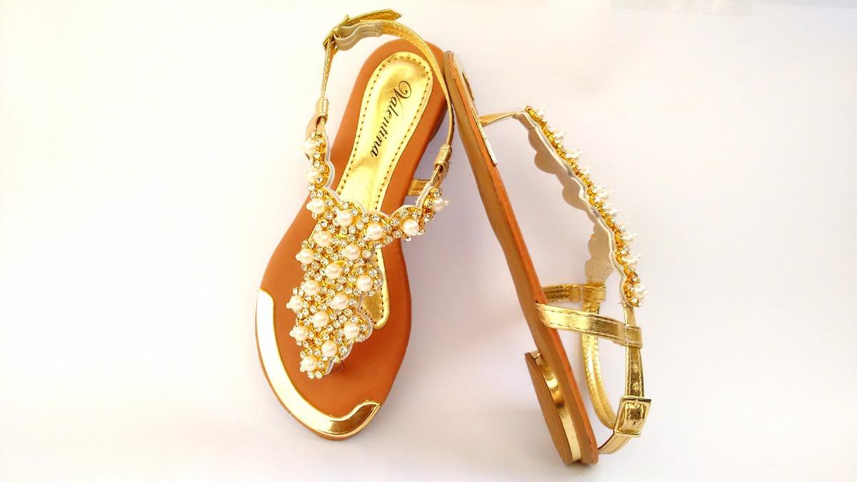 d9cc479ba8 kit 6 sandálias feminina chinelo rasteirinha strass perolas. Carregando  zoom.