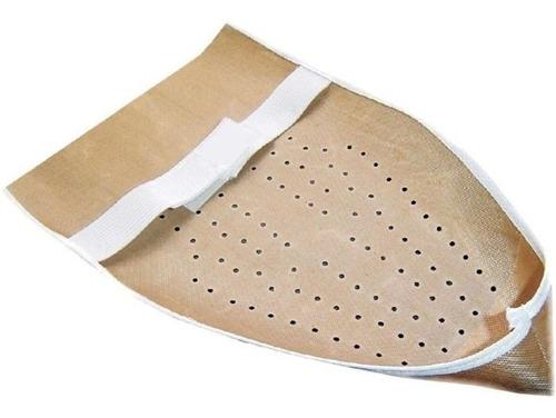 kit 6 sapatas anti-brilho para ferro de passar velcro fácil