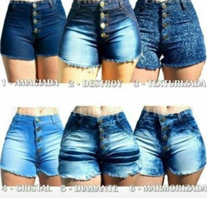 kit 6 shorts jeans feminino hot pants atacado revenda · shorts jeans  feminino. Carregando zoom. ead5860f54c