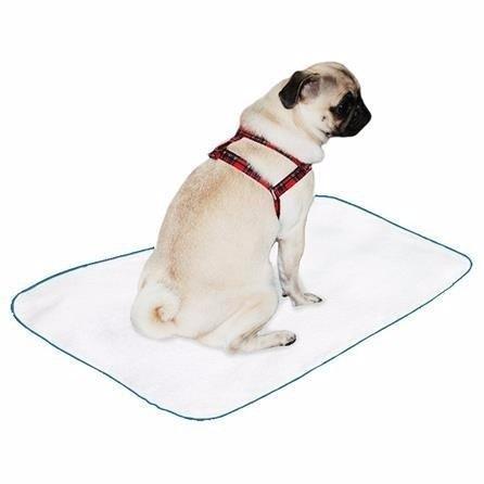 kit 6 tapetes higiênicos lavável canino cães cachorro 60x80