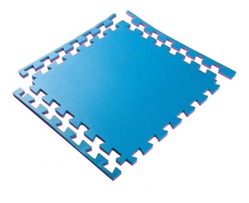 kit 6 tatame tapete eva grande 100x100x3cm 30mm 1x1 metro