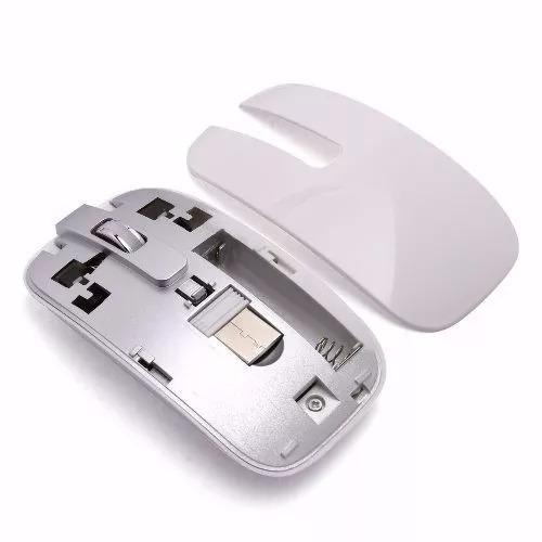 kit 6 teclados + mouse s/fio wireless computador tv - branco