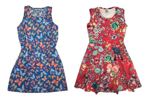 kit 6 vestido infantil feminino roupa menina lote atacado