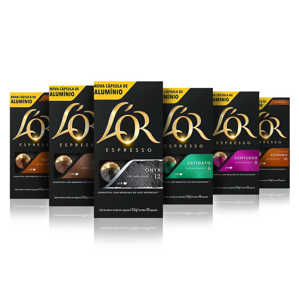 kit 60 c psulas caf lor alum nio compat veis nespresso r 101 90 em mercado livre. Black Bedroom Furniture Sets. Home Design Ideas