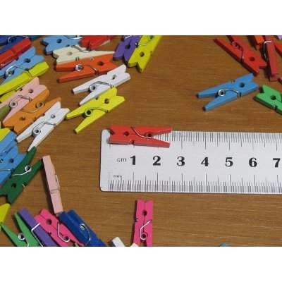 kit 60 mini prendedores de roupa - pregadores lembrancinha