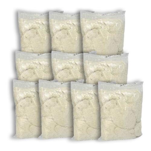 kit 60 sacos estopas brancas 150 gramas promoção