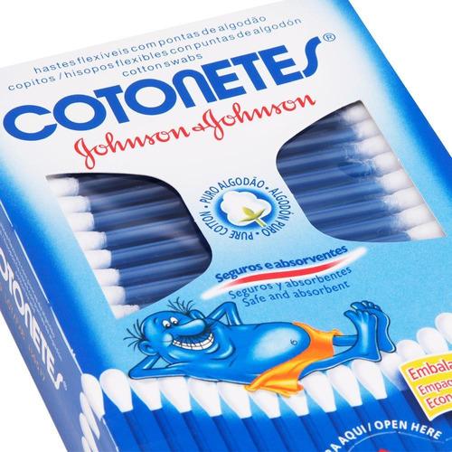 kit 600 hastes flexíveis cotonetes