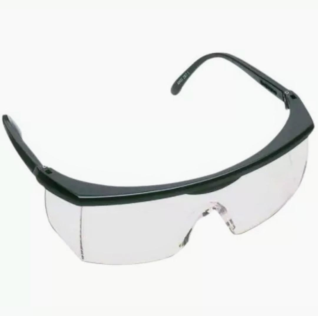 76612b0344ee8 kit 62 óculos trasparente proteção epi construção civil. Carregando zoom.