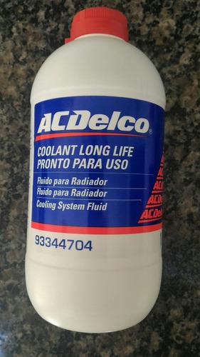 kit 7 aditivo para radiador diluído ac delco ( pronto uso )