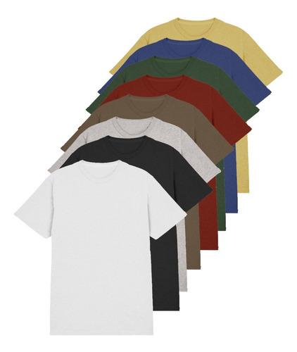 kit 7 blusas masculinas atacado revenda básica malha premium