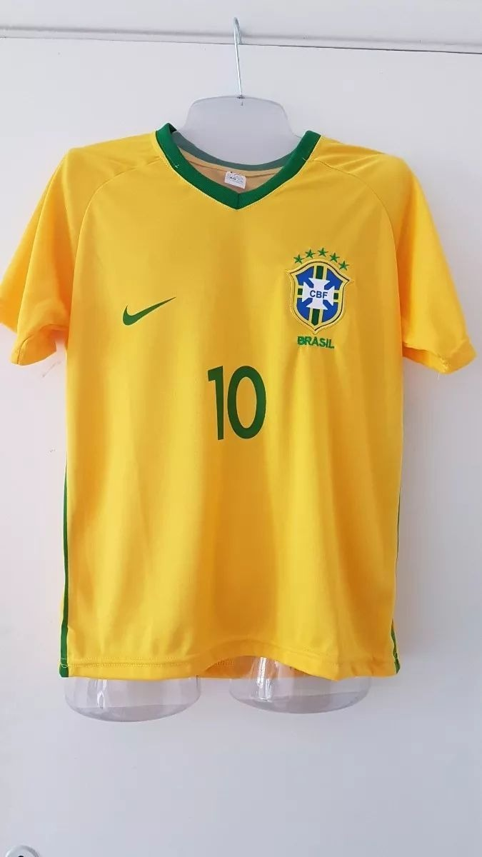 475cea4b56553 Kit 7 Camisa Seleção Brasileira Brasil Copa Do Mundo 2018 - R  143 ...