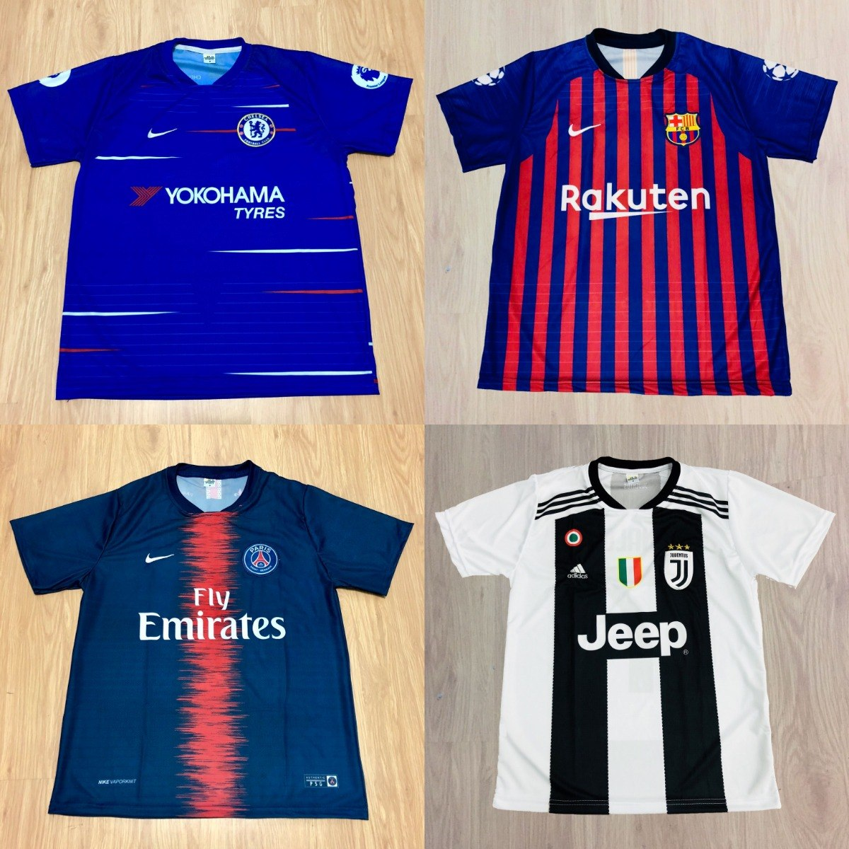 kit 7 camisas futebol 100 modelos diferentes 2018 atacado. Carregando zoom. c1580c11a7d9f