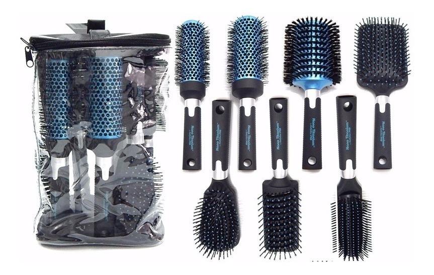 1088b8672 kit 7 cepillos babyliss de brushing profesional peluqueria. Cargando zoom.