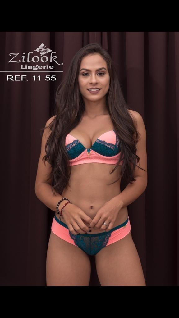 bff887592 kit 7 conjuntos lingerie zilook renda luxo atacado revenda. Carregando zoom.