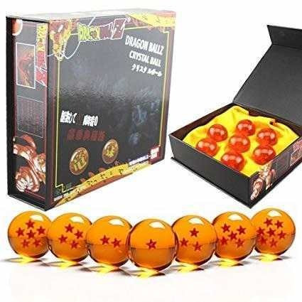 kit 7 esferas de dragon ball z