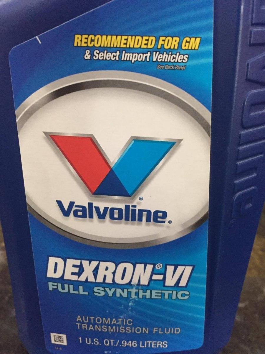 Kit 7 Óleos Valvoline Dexron Vi 6 Para Cambio Automático