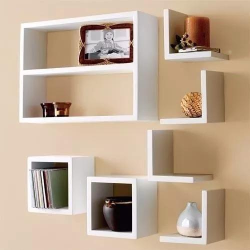 idea decorativa para habitacion de adulto kit 7 pe as nichos branco ja vai montado mdf nicho decor
