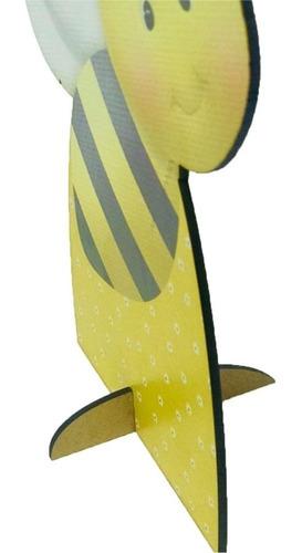 kit 7 peças totem display chao mdf escolha seu tema 88cm