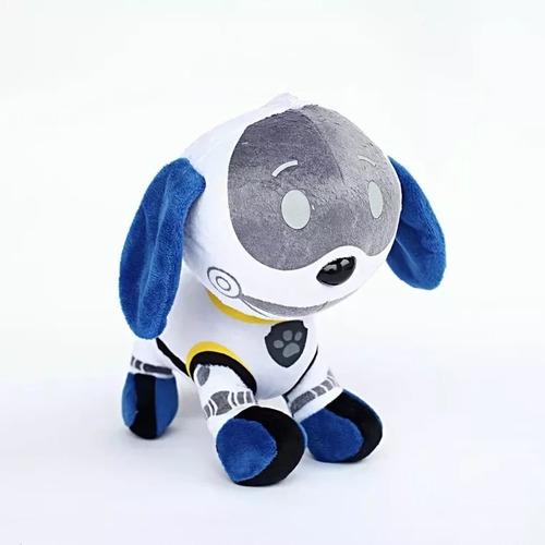 kit 7 pelúcias patrulha canina boneco musical antialerg b032