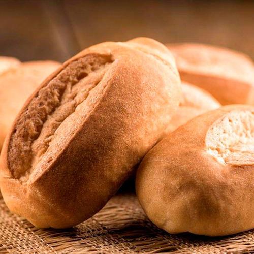 kit 7 pão francês sem glúten vegano pré assado 130g schar