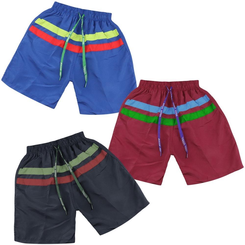 dbe0071879445 Kit 7 Short Infantil Masculino Calção Esporte Atacado - R  90