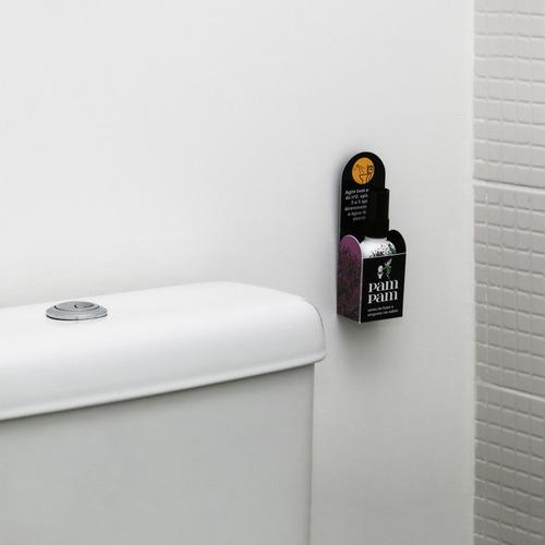 kit 7 unidades bloqueador de odor sanitário pampam citrus fl