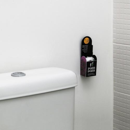 kit 7 unidades bloqueador de odor sanitário pampam lavanda 6