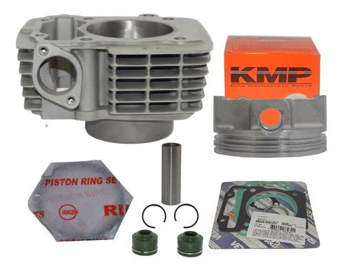 kit 70mm forjado 220cc kmp p/titan 150 bros 150