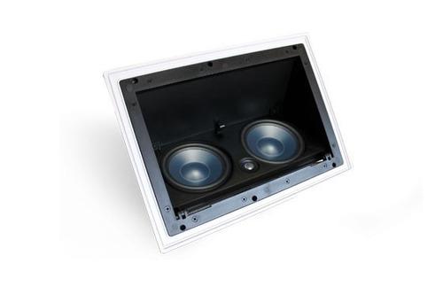 kit 7.1 aat caixas embutir 1x lcra100 6x lre100 sub rakt 10