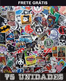 4291c968d Adesivos Marcas De Skate Coloridos - Acessórios para Veículos no Mercado  Livre Brasil