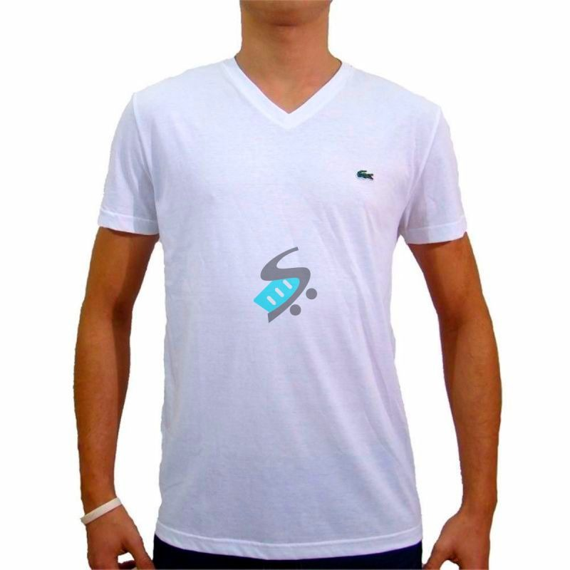 kit 75 camiseta camisa masculina de marca gola v top atacado. Carregando  zoom. 46df963e6bbad