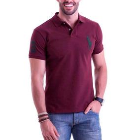 77c32f83e6 Camisa Polo - Pólos Manga Curta Masculinas no Mercado Livre Brasil