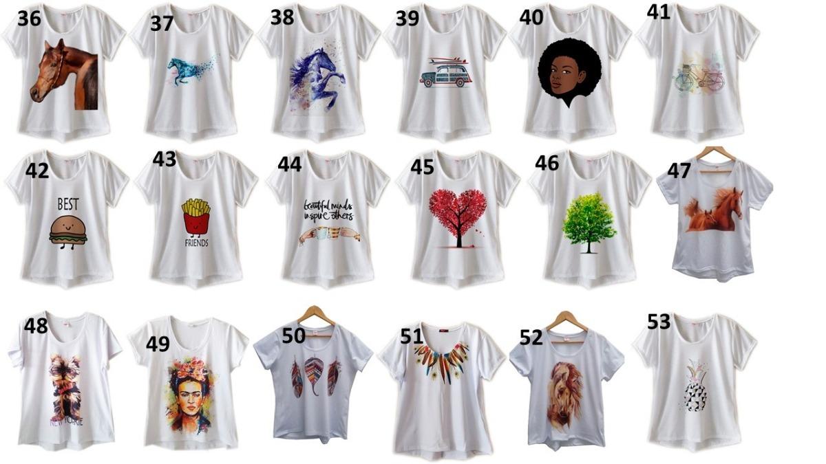 4e48509766 kit 8 camisetas femininas lindas estilo atacado frete grátis. Carregando  zoom.