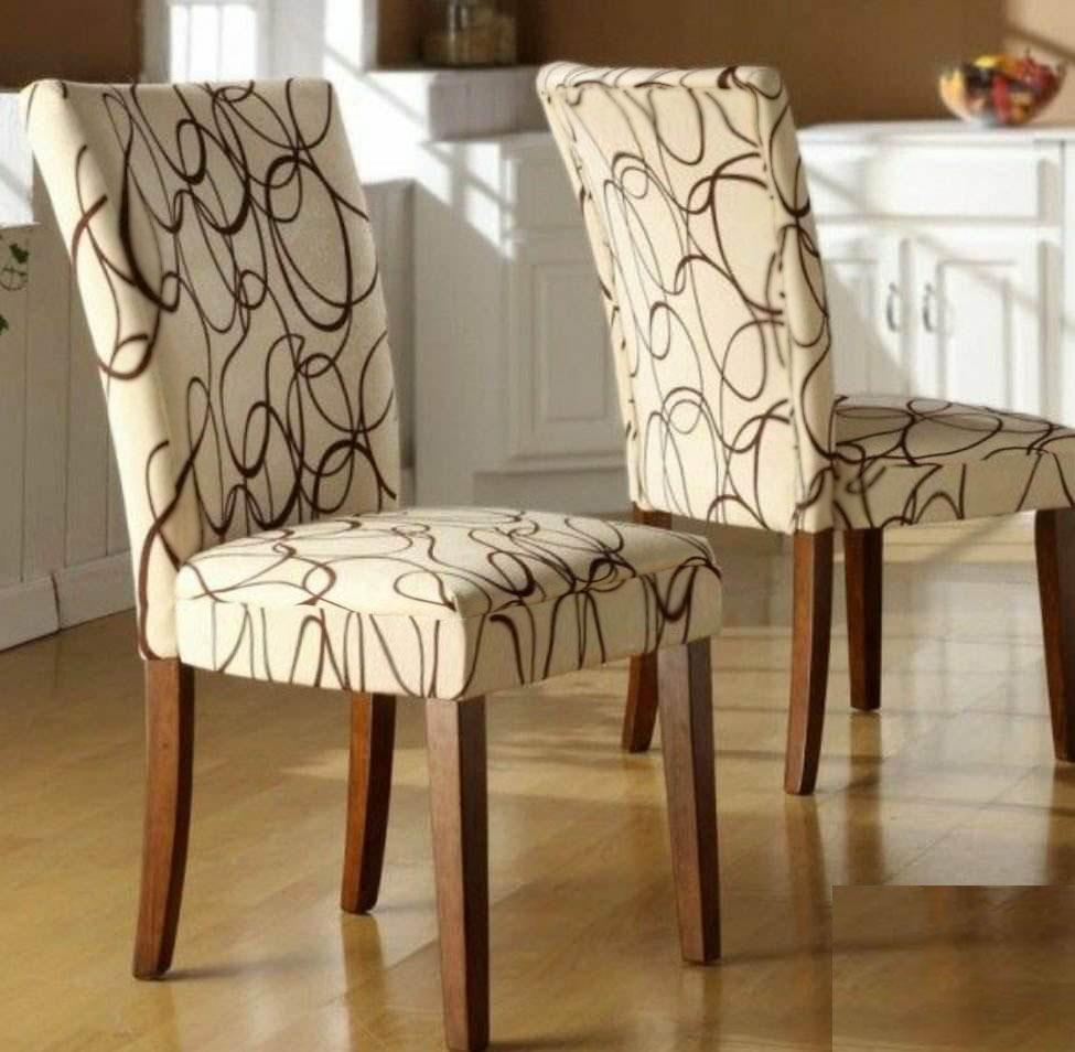 Kit 8 Capas Cadeiras De Jantar Estampas Especiais R 615