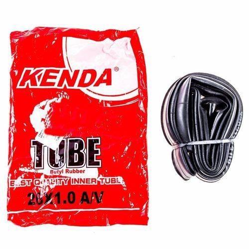 kit 8 câmara ar balão aro 26 x 1,0 bike bico grosso kenda