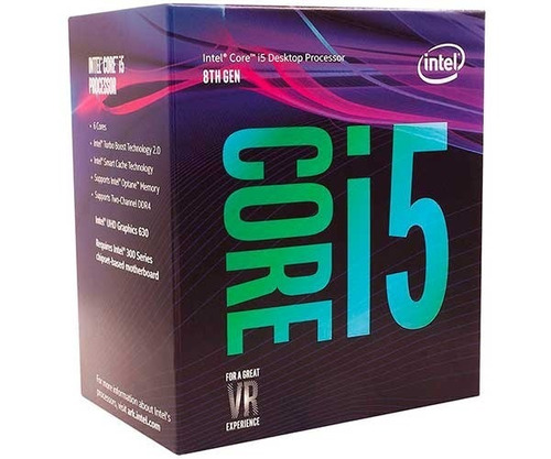 kit 8ª ger i5 8400 + mb asus h310m-e + 8gb 2400 mhz fury