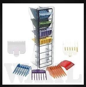 kit 8 guías peines colores profesional peluqueria barberia