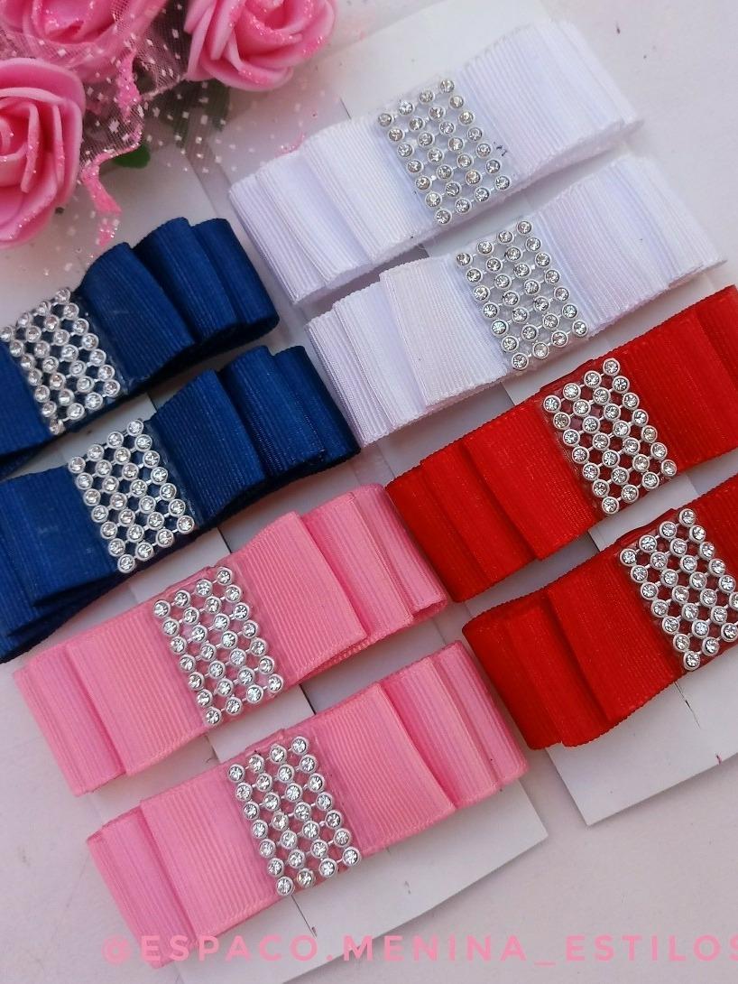 Kit 8 Lacos Chanel Meninas R 45 00 Em Mercado Livre