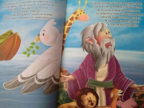 kit 8 livros histórias bíblicas favoritas