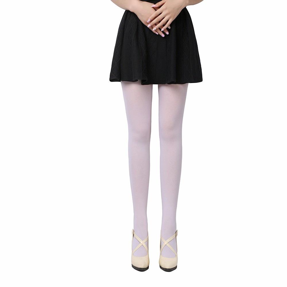 e3d1f433d kit 8 meia calça fio 40 branca. Carregando zoom.