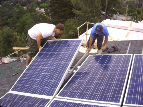 kit 8 paneles solares 330w 1 inversor - 700kwh bimestral