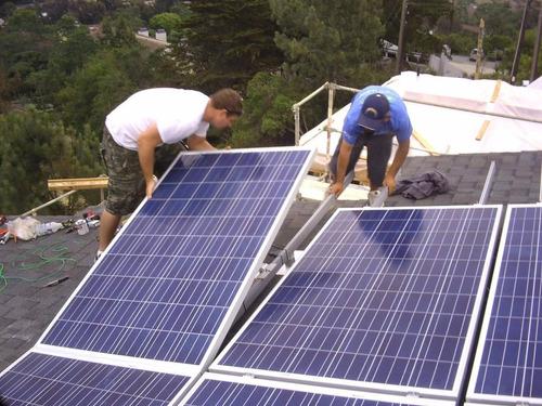 kit 8 paneles solares 385w completo - 780kwh bimestral