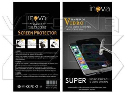 kit 8 pelicula de vidro iphones 5/5s/6/6s/7