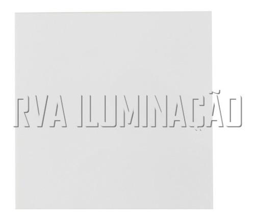 kit 8 plafon de sobrepor acrilico 30x30 luminaria