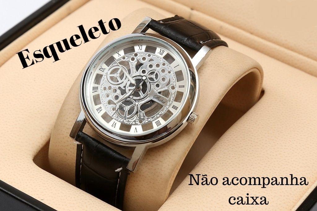 e9153527d03 Kit 8 Relógio Masculino Yazole Atacado Revenda Barato - R  169
